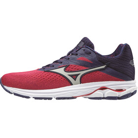 Mizuno Wave Rider 23 Running Shoes Women, hibiscus/vapor blue/astral aura